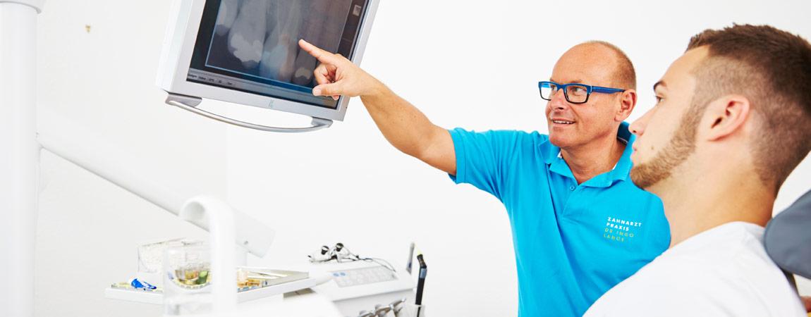 Zahnarztpraxis Ingo Lange - Digitales Röntgen 1