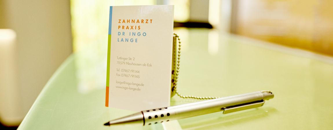 Zahnarztpraxis Ingo Lange - Praxisphilosophie 1