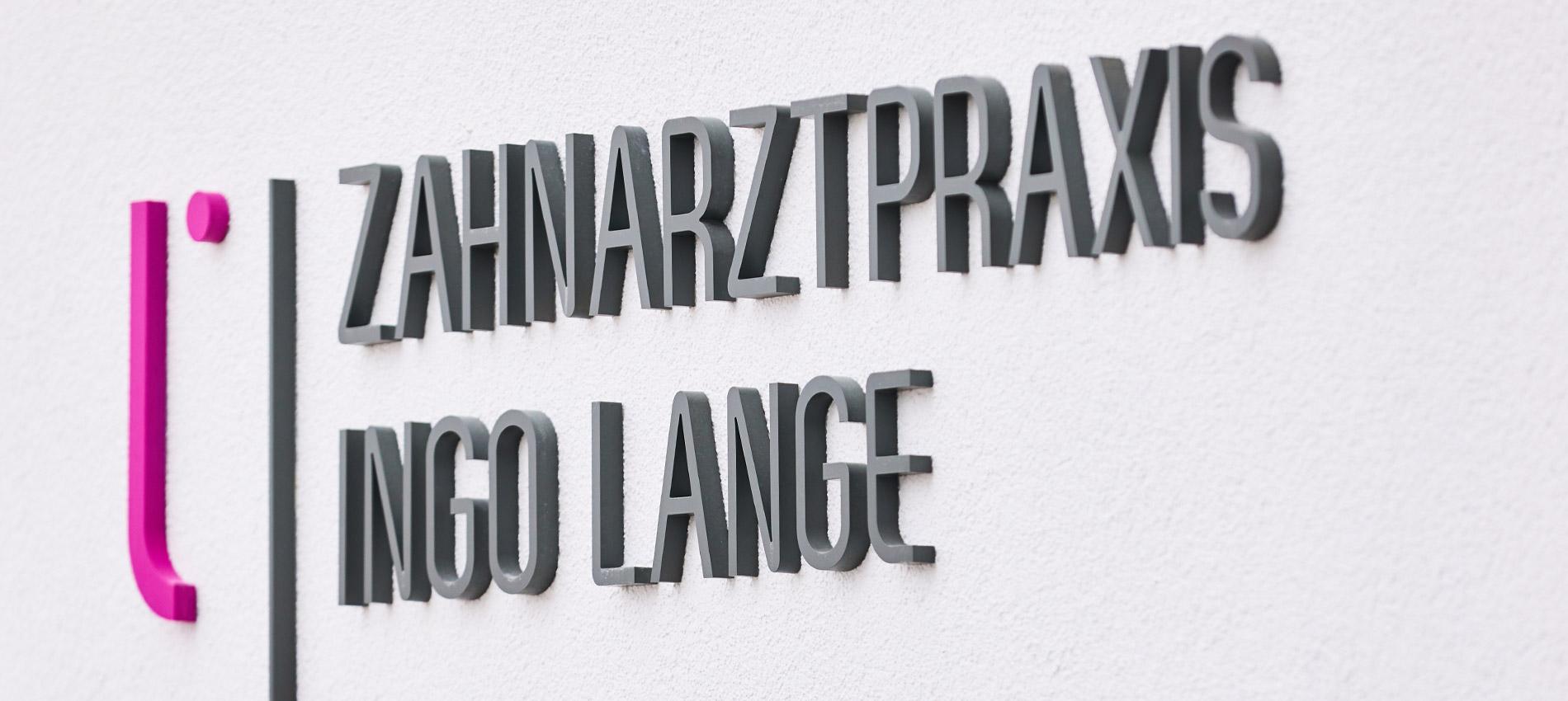 Zahnarztpraxis Ingo Lange - Datenschutzerklärung 1