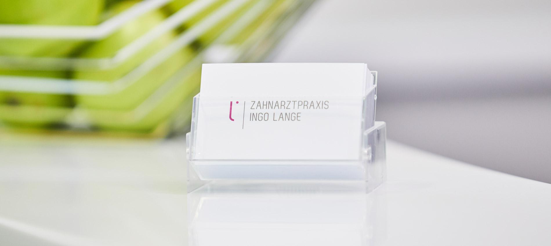 Zahnarztpraxis Ingo Lange - Kontakt 1